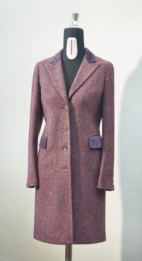 Damen Gehrock Donegal Tweed