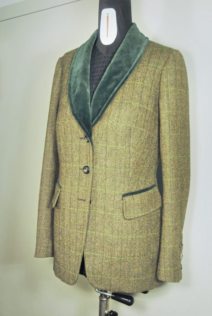 Damen Blazer Islay Tweed