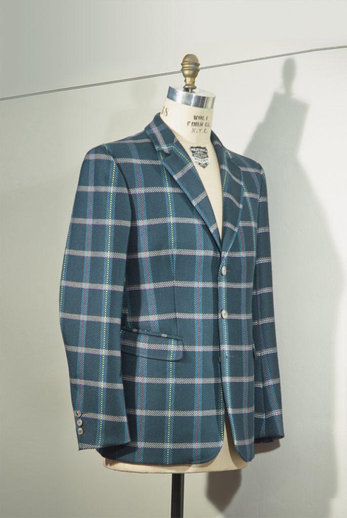 Tweed mit Reflektorstreifen