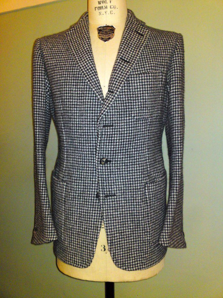 Gewaschener Sherry Tweed