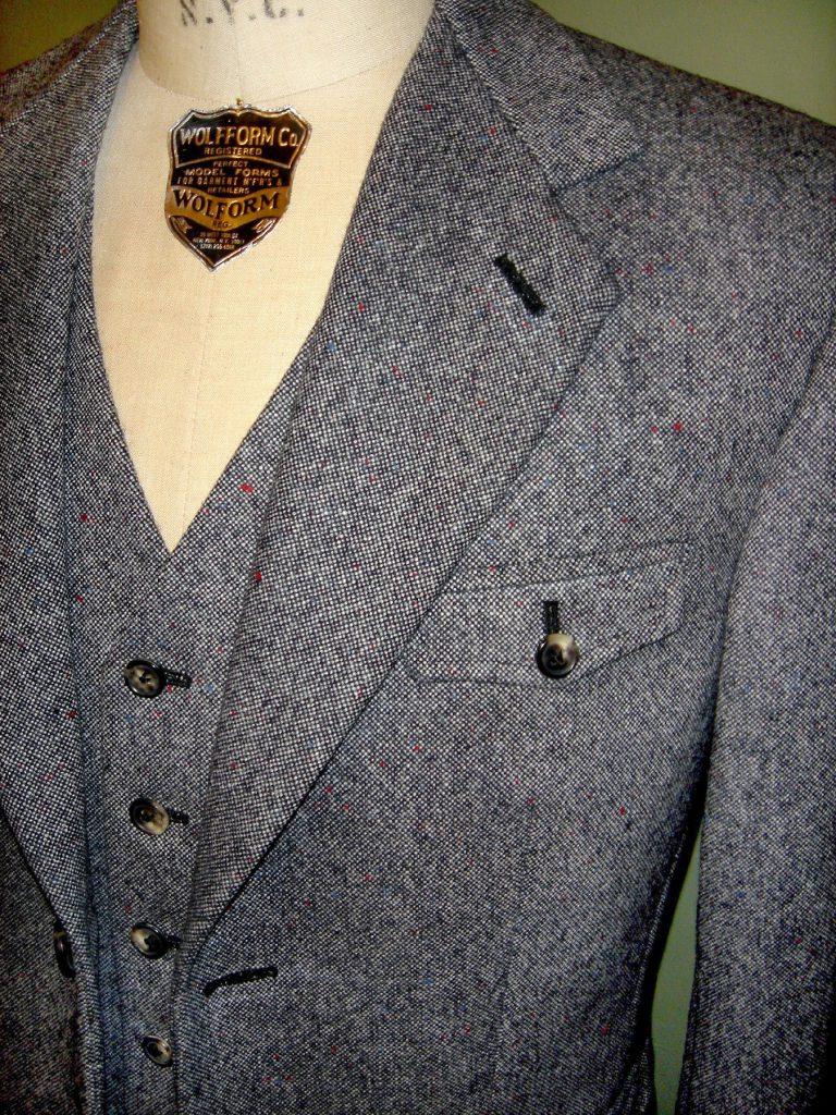 Tweed Anzug, Pfeffer & Salz